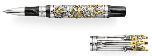 Montegrappa – Game of Thrones Sterling Silver The Iron Throne Rollerball