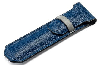 Montegrappa Pen Case, Blue & Gray