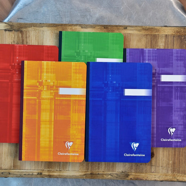 Clairefontaine Classic Clothbound 4x6 Lined Notebook