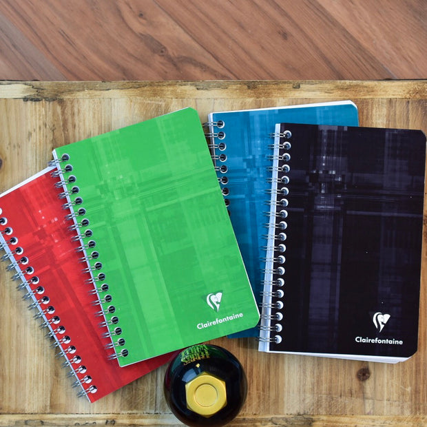 Clairefontaine Classic Side Wirebound 4x6 Lined Notebook