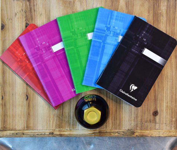 Clairefontaine Classic Staplebound Lined Pocket Notebook