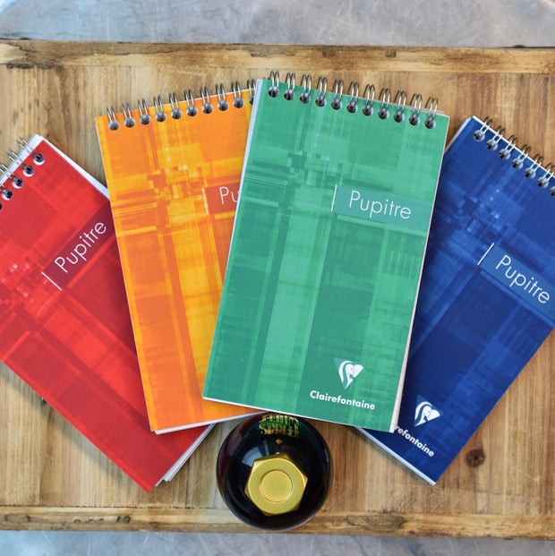 Clairefontaine Classic Top Wirebound Lined Notebook