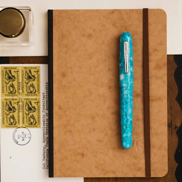 Conklin All American Turquoise Serenity Fountain Pen