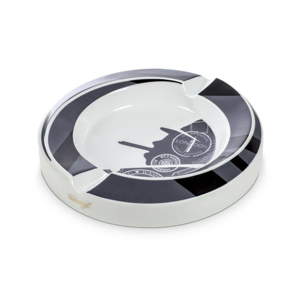Davidoff Limited Edition Winston Churchill Traveller Porcelain Ashtray-Davidoff-Truphae