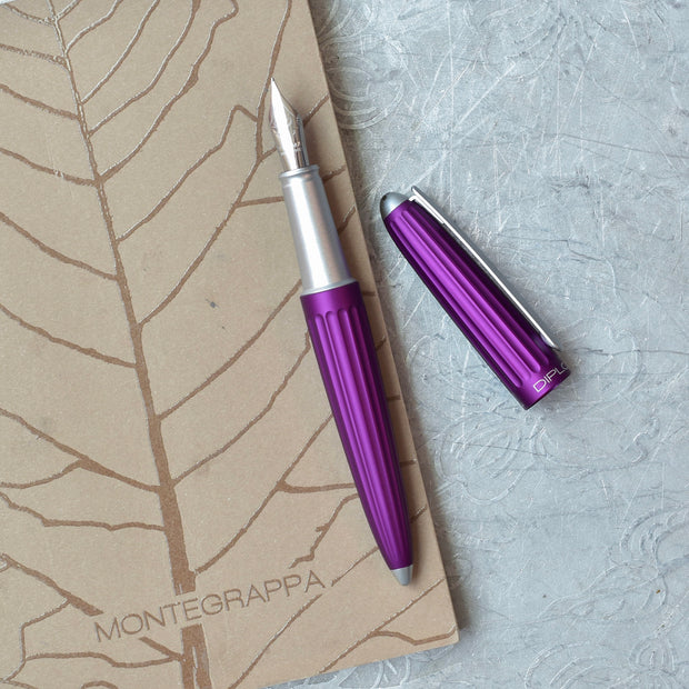 Diplomat Aero Violet Fountain Pen