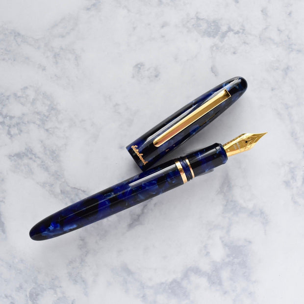 Esterbrook Estie Cobalt Blue & Gold Plated Trim Fountain Pen-Esterbrook-Truphae