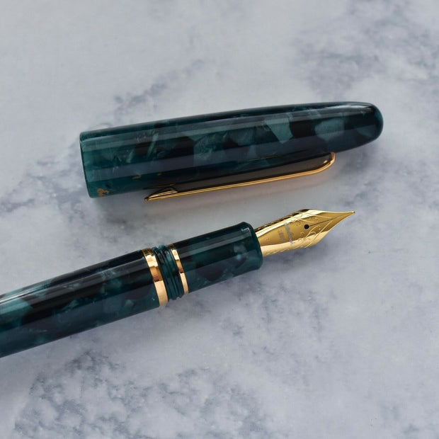 Esterbrook Estie Dark Green and Gold-Plated Fountain Pen