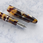 Esterbrook Estie Tortoise Brown & Chrome Plated Trim Fountain Pen