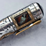 Krone Limited Edition Edgar Allen Poe Standard Fountain Pen 18k Gold Fine F Nib