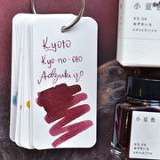 Kyoto TAG Kyo-no-Oto No. 6 Adzukiiro Ink Bottle