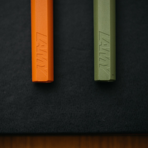 LAMY Safari 2021 Savannah Green & Terra Cotta Fountain Pen