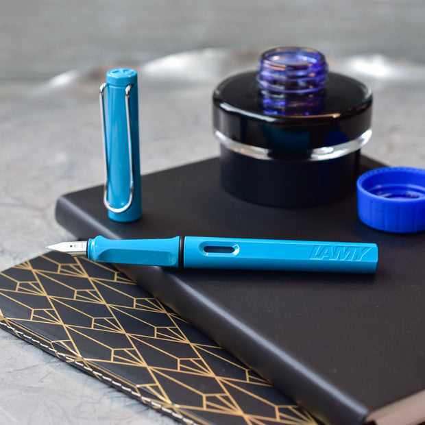 LAMY Safari Aquamarine 2011 Fountain Pen