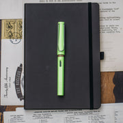 LAMY Safari Neon Lime Green 2015 Fountain Pen