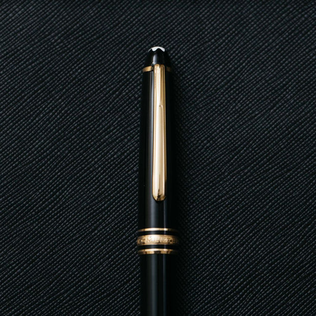 Montblanc Meisterstuck 144 Black Fountain Pen