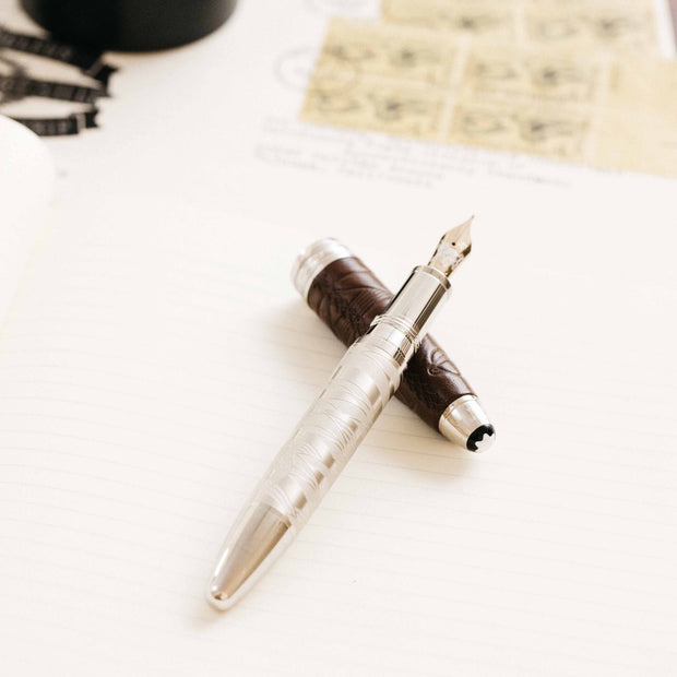 Montblanc Meisterstuck Le Petit Prince Aviator Solitaire LeGrand Fountain Pen