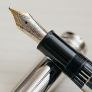 Montblanc Meisterstuck 146 Stainless Steel LeGrand Fountain Pen