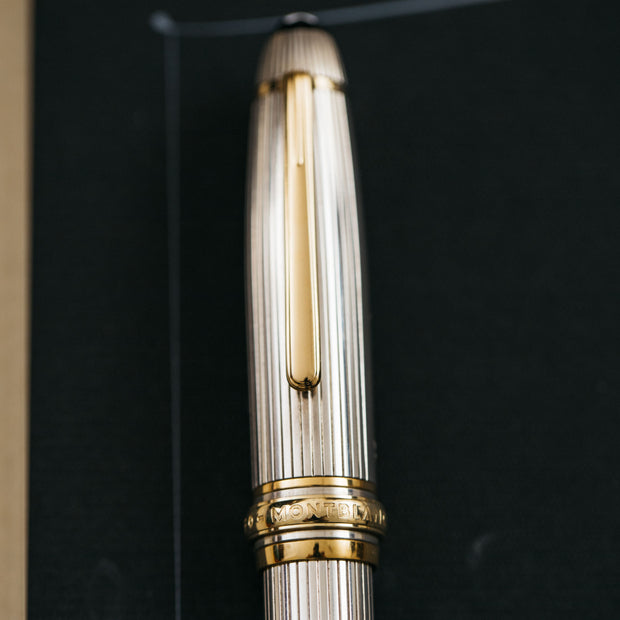 Montblanc Meisterstuck 146 Sterling Silver Wedding LeGrand Fountain Pen