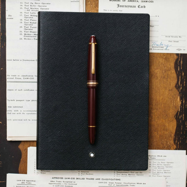 Montblanc Meisterstuck 146R Bordeaux LeGrand Fountain Pen