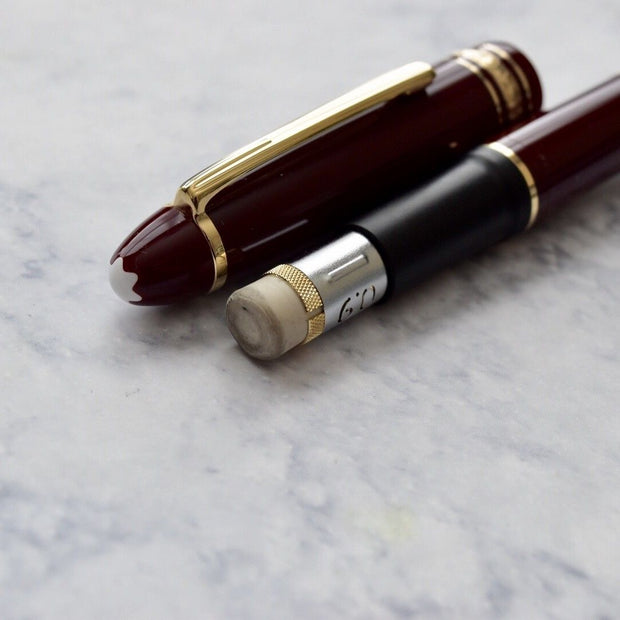 Montblanc Meisterstuck 167R Burgundy Bordeaux LeGrand Mechanical Pencil 0.9mm-Montblanc-Truphae