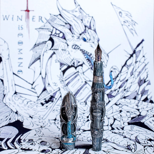 Montegrappa Game of Thrones Winter is Here Limited Edition Fountain Pen
