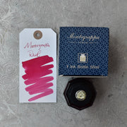 Montegrappa Red Ink Bottle 50 ml