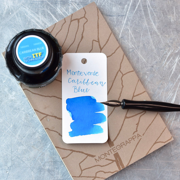 Monteverde Caribbean Blue Ink Bottle