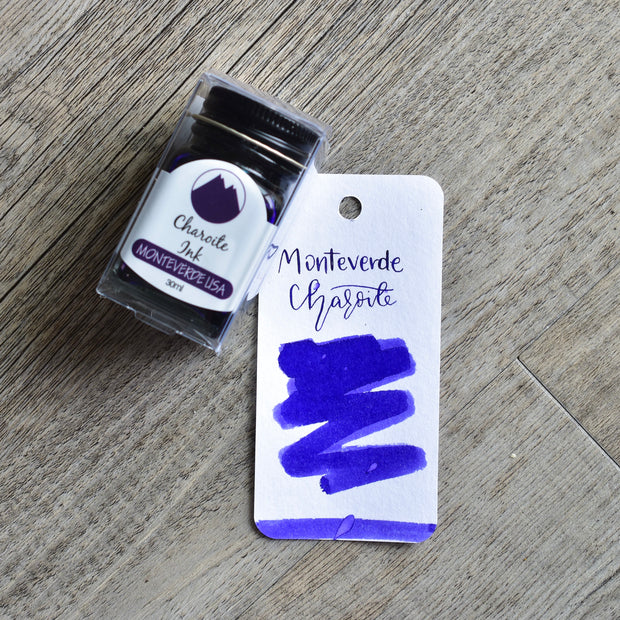Monteverde Charoite Ink Bottle