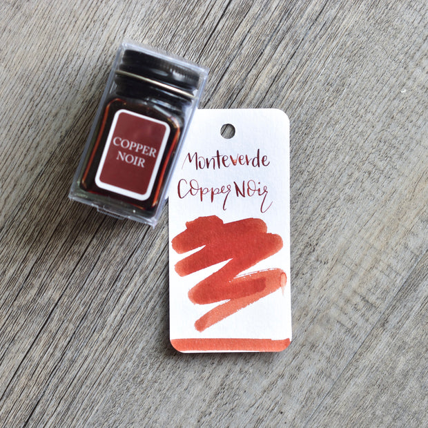 Monteverde Copper Noir Ink Bottle