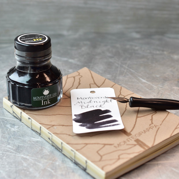 Monteverde Midnight Black Ink Bottle