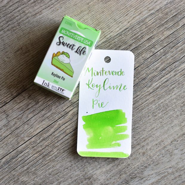 Monteverde Sweet Life Key Lime Pie Ink Bottle