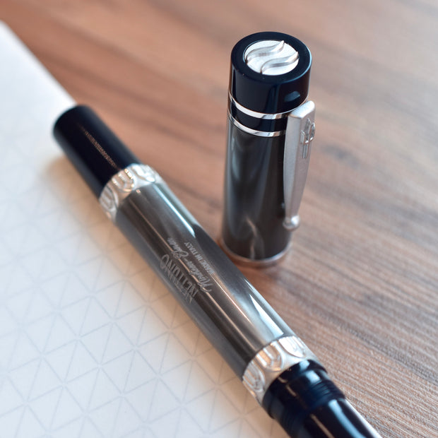 Nettuno 1911 Tritone Blue Grey Fountain Pen