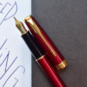 Parker Sonnet Lacque Ruby Red Fountain Pen