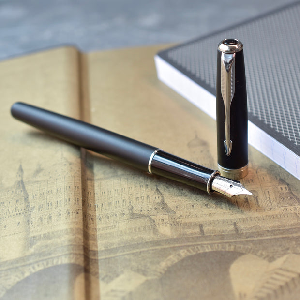 Parker Sonnet Matte Black Fountain Pen