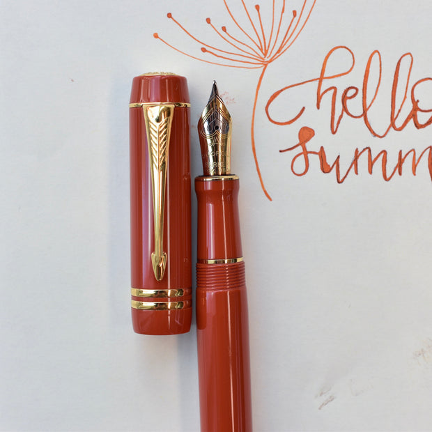 Parker Duofold Centennial Big Red Fountain Pen