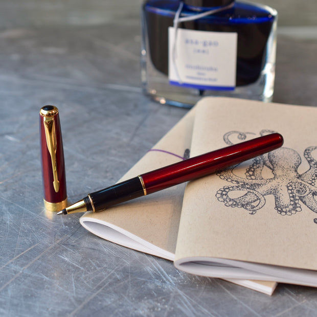 Parker Sonnet Lacque Ruby Red Rollerball Pen