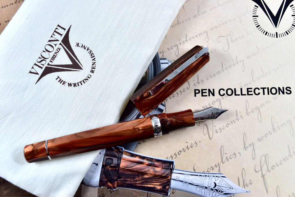 Visconti Special Edition Medici Acrosilk Palladium Trim Oversize Fountain Pen