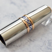 Visconti Limited Edition of 388 Portofino Teak Wood Steel Overlay Rollerball Pen-Visconti-Truphae