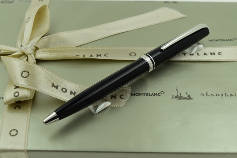 Montblanc Generation Black & Platinum Plated Trim Ballpoint Pen *RARE*!