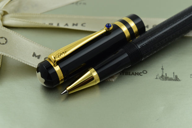 Montblanc Writers Limited Edition 1997 Fyodor Dostoevsky Black Rollerball Pen
