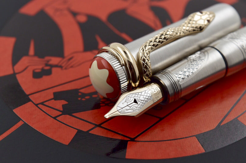 Montblanc Heritage Rouge et Noir Solitaire Limited Edition 1906 Fountain Pen M
