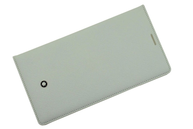 Montblanc Soft Grain White Leather Tablet Case Samsung Galaxy Note 4 SGN4-Montblanc-Truphae