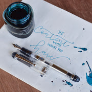 Minimalist Fountain Pen - Pilot Clear Custom 74