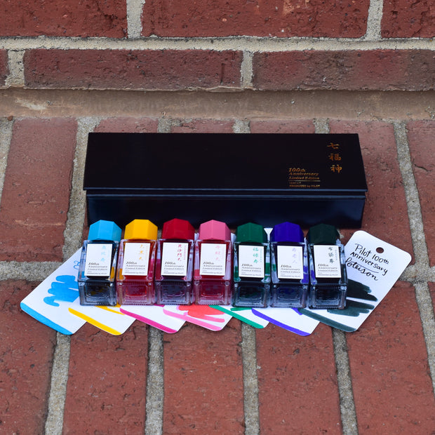 Pilot Namiki Iroshizuku 100th Anniversary 15ml Mini Bottle Ink Set