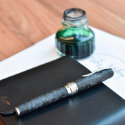 Pineider Mystery Filler Forged Carbon Fountain Pen