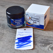 Private Reserve American Blue Ink Bottle