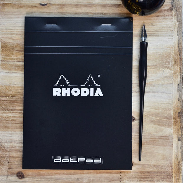Rhodia No. 16 A5 Black Dotpad Dot Grid Notepad