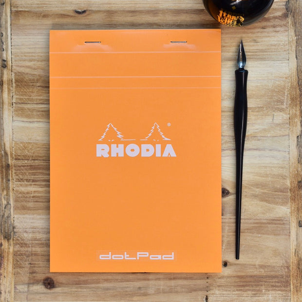 Rhodia No. 16 A5 Orange Dotpad Dot Grid Notepad