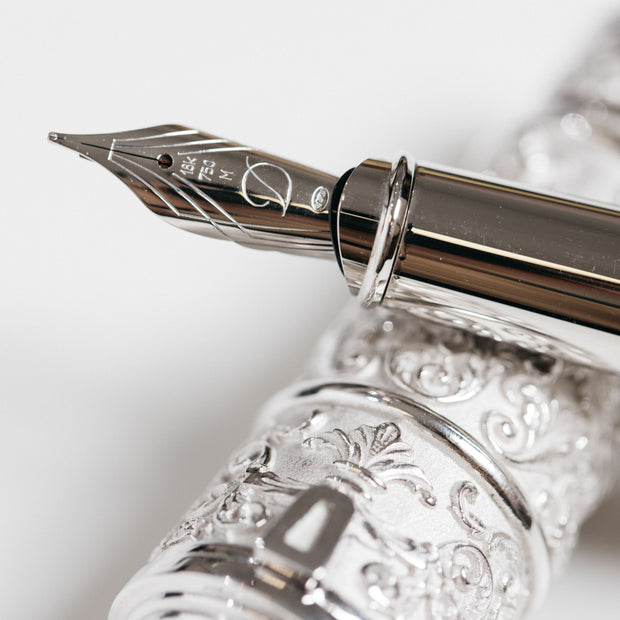 ST Dupont Ultra Exclusive Pirates Fountain Pen & Sculpture