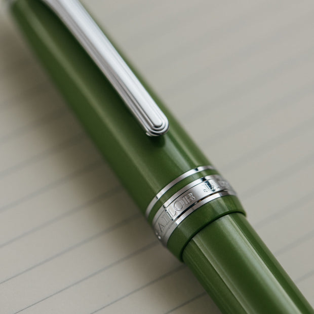 Sailor 1911S Key Lime Fountain Pen
