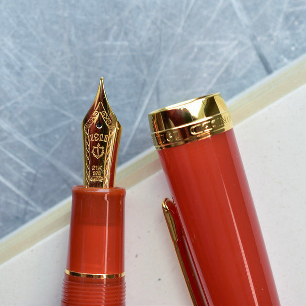Sailor Professional Gear Fire Fountain Pen